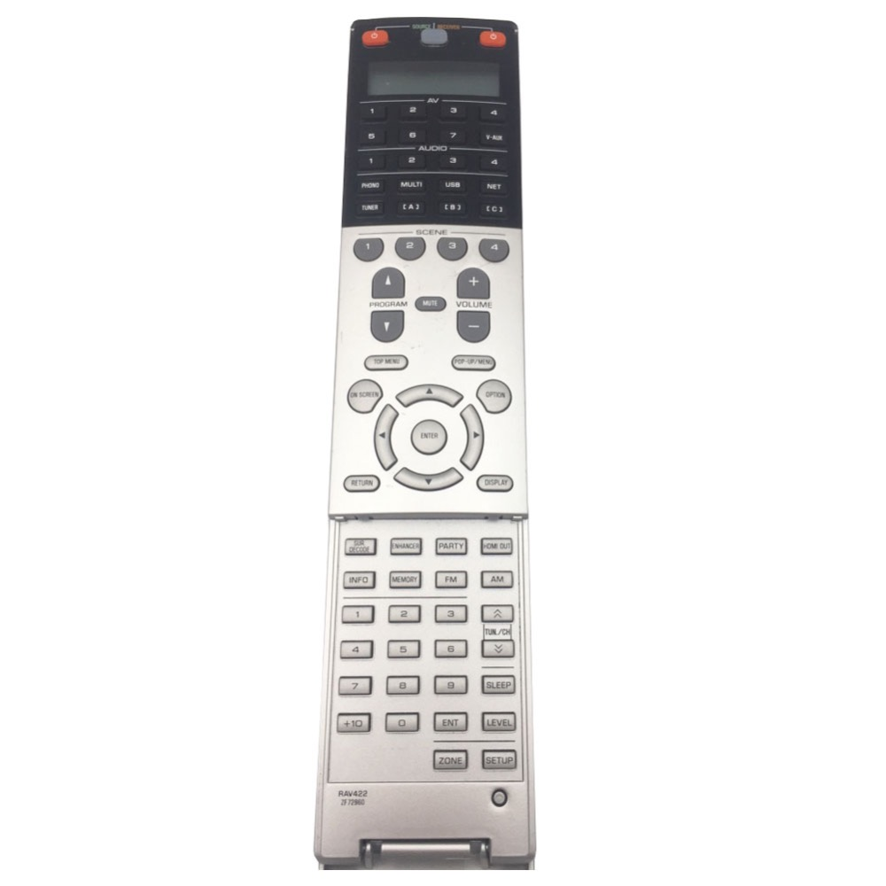 US $65 0 |Used RAV422 ZF72960 Remote Control For Yamaha NATURAL SOUND AV  Receiver RX A3030 RX A2030-in Remote Controls from Consumer Electronics on
