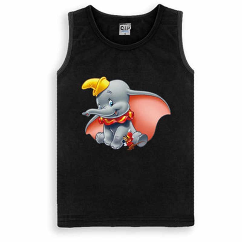 3f20ddf7edcf6 Dumbo Tshirt New Fashion Boys T Shirt Teens Clothes Girls Cartoon Elephant Shirt  Kids T-