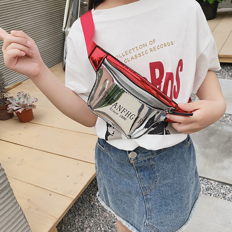 Kids Waist Packs Fanny Bag Fashion Chest Bag Kid Boy Girl Money Wallet Waist Bags Children Baby Belt Pack Kawaii Shoulder Bag