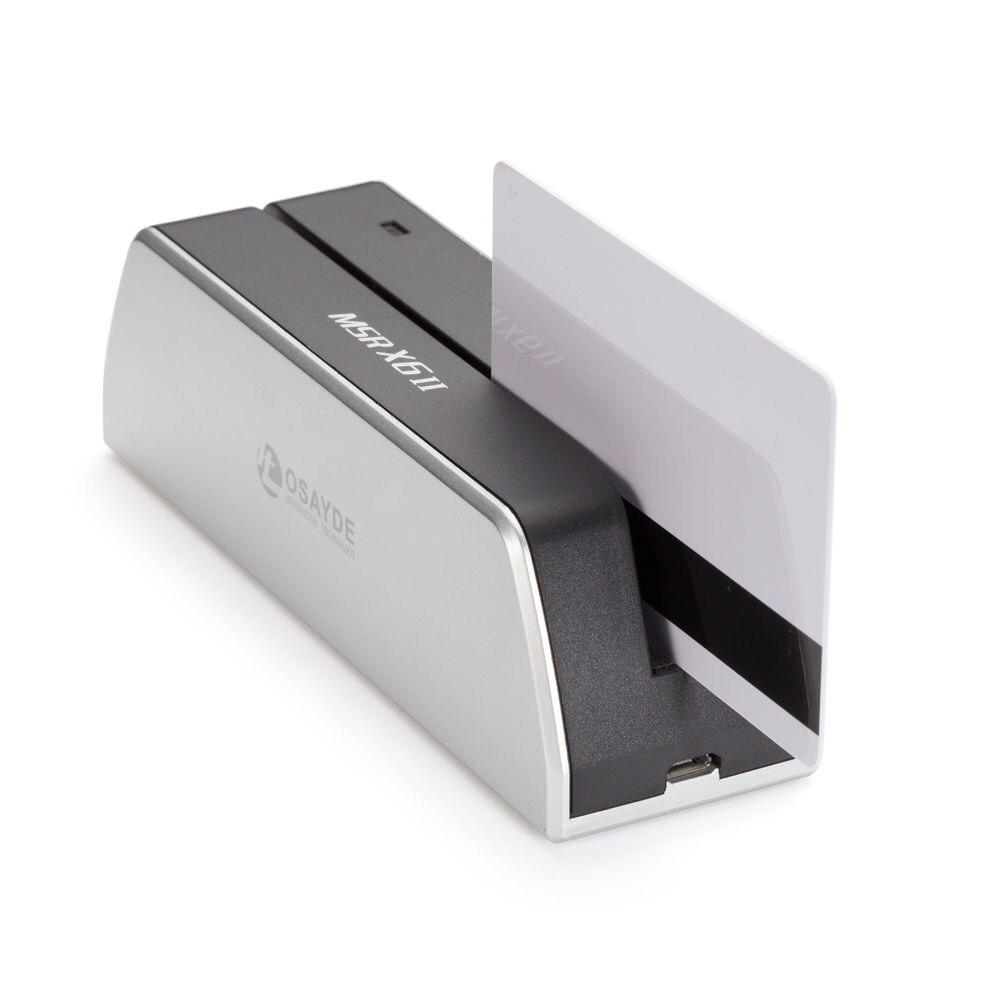 OSAYDE X6II кредитных карт Писатель магнитных карт данных кодер