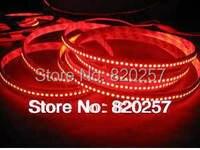 Free nakliye kırmızı renk 5 m makara 24 v 3528 smd metre başına 240 led led şerit işıklar tek sıra kapalı kullanım