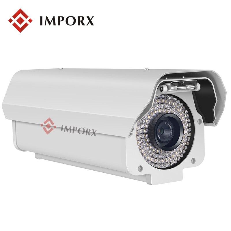 5.0 Megpixels Lentille 2.0MP 1080 P License plate Capture Caméra de Reconnaissance En Plein Air ANPR LPR IP Caméra avec 12mm lentille pour L'autoroute