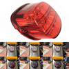 1PCS Black Or Red Complete Tail Lamp Assembly Layback LED Tail Lamp For 2013 Harley Motor