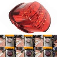 1PCS Black or Red Complete Tail Lamp assembly Layback LED Tail Lamp for 2013 Harley motor Electra Glide Ultra Classic FLHTCU