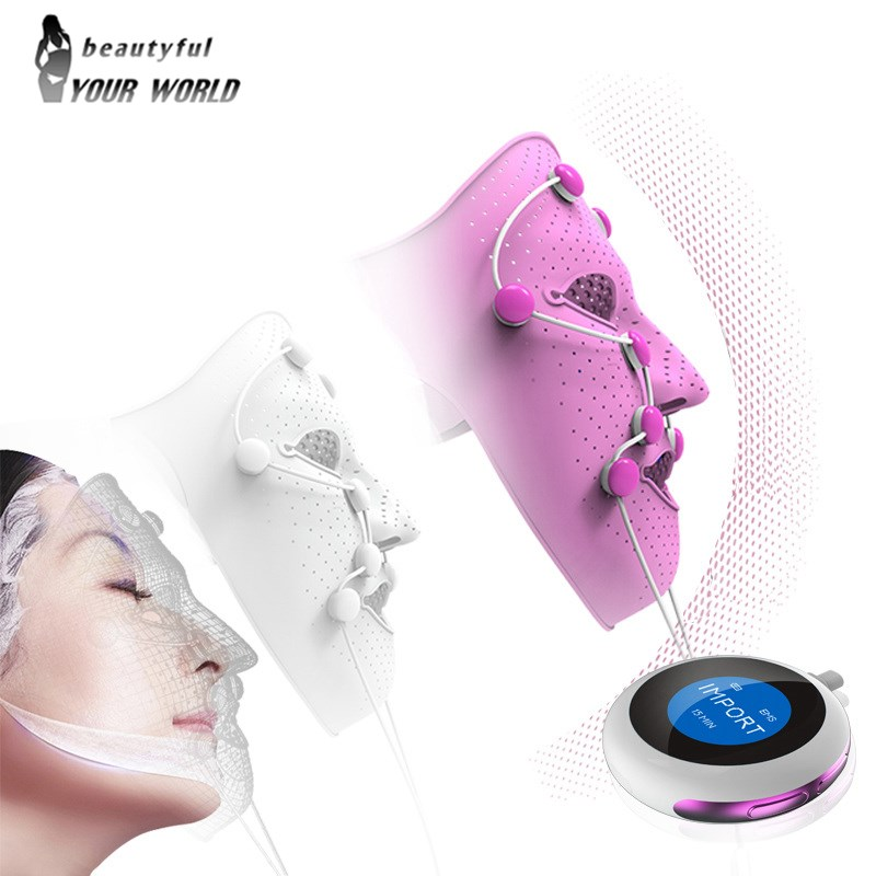Electric Vibration Face Mask Massager Home Use Anti-wrinkle Magnet Massage Facial SPA Acne Wrinkle Removal Therapy Beauty SalonElectric Vibration Face Mask Massager Home Use Anti-wrinkle Magnet Massage Facial SPA Acne Wrinkle Removal Therapy Beauty Salon
