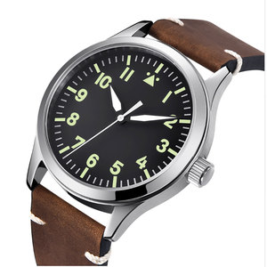 Image 3 - 42mm Corgeut sterylna tarcza do zegarka szafirowe szkło wojskowe mężczyźni automatyczny luksusowy wzór sportowy marki automatyczny mechaniczny męski zegarek