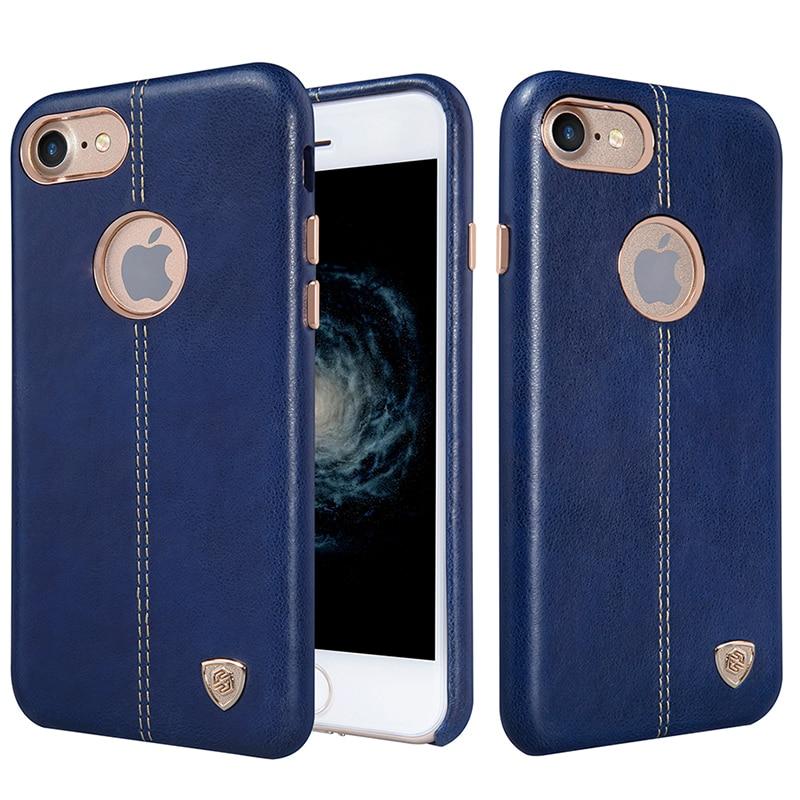 """Цена за Оригинальный чехол Nillkin чехол для Apple iPhone 7 Englon кожаные чехлы для iPhone7 4.7 """"Телефон задняя крышки"""