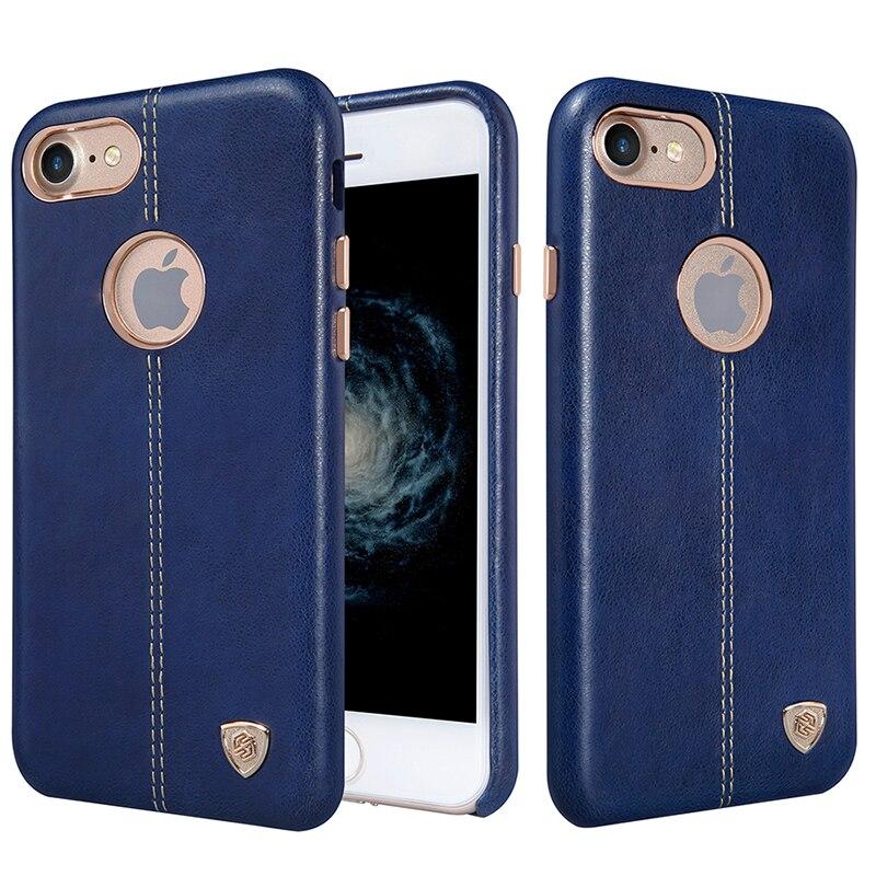 """imágenes para Original de Nillkin Caso de la Cubierta Para Apple iPhone 7 Caso Estuches De Cuero Para iPhone7 Englon 4.7 """"Teléfono Contraportadas"""