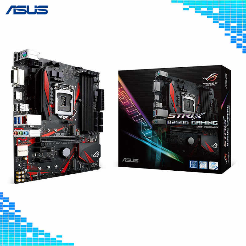 Asus ROG STRIX B250G GAMING Motherboard Intel B250 socket LGA 1151 4*DDR4  DIMM Desktop Motherboard