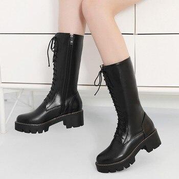 большой круглый стол   Большие размеры 9, 10, 11, 12; ботинки; женская обувь; женские ботинки с перекрещивающимися ремешками из водонепроницаемого материала
