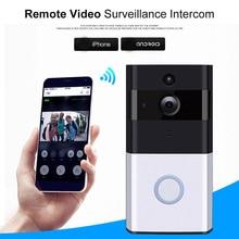 WI-FI de Vídeo Campainha Da Porta Para Apartamentos Com IR Câmera de Segurança Sem Fio Inteligente de Alarme Campainha Da Porta Inteligente Homekit
