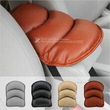 Авто подлокотники колодки автомобиль центральной консоли подлокотник сиденья защитный чехол мягкий PU коврики подушки универсальный