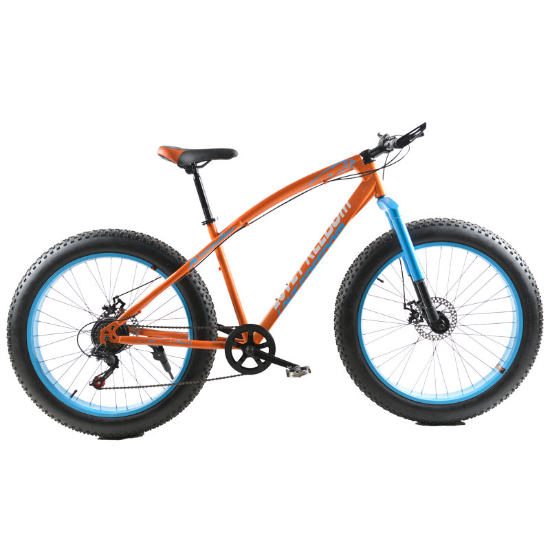 Fat Bike Cross country Snow Bike 26 Inch 4.0 Extra Wide Tire Bicycles Adult Male And Female Students Bicycle 26 inch 7 21 27speed cross country mountain bike aluminum frame snow beach 4 0 oversized bicycle tire dirt bikes for men