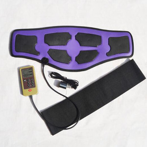 Image 1 - 6 mode Electrical Massage Slimming waist belt EMS therapeutic acupuncture Low frequency pulse massager slimming weight loss belt