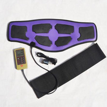 6 modus Elektrische Massage Abnehmen taille gürtel EMS therapeutische akupunktur Niedrigen frequenz impuls massager abnehmen gewicht verlust gürtel