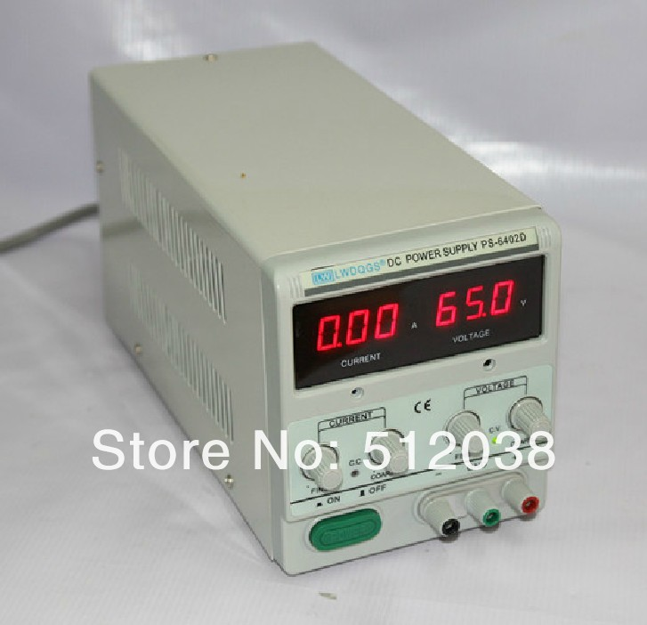 LW  PS-6402D  0-64V/2A linear dc regulated power supply