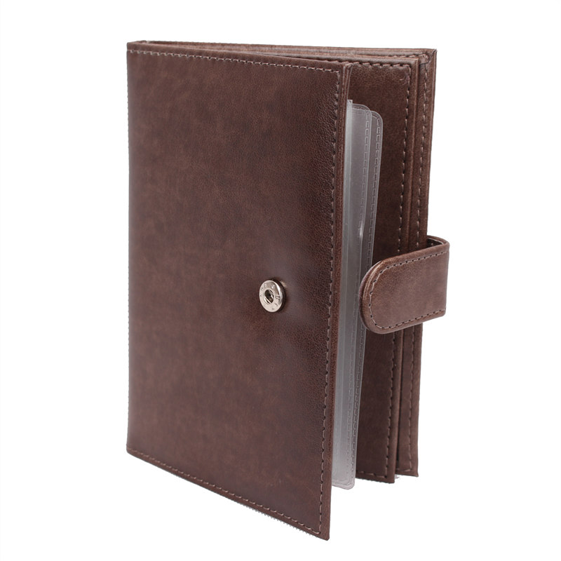2018 Men's 2 In 1 Passport Covers Organizer Car Documents