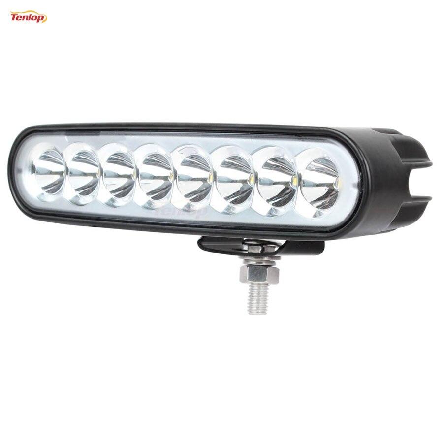 10PCS 6.5 Inch 40W Headlight Day Running Light For Offroad Car 4*4 ATV 12V 24V