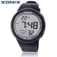 XONIX Mode Hommes Montres de Sport Étanche 100 m Plaisir En Plein Air Numérique Montre De Natation Plongée Montre-Bracelet Reloj Hombre Montre Homme