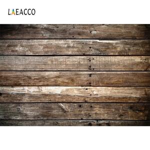 Image 2 - Laeacco drewniana płyta deski tekstury Grunge tła do fotografii portretowej zdjęcie tła dla dziecka Pet Doll Photophone rekwizyty