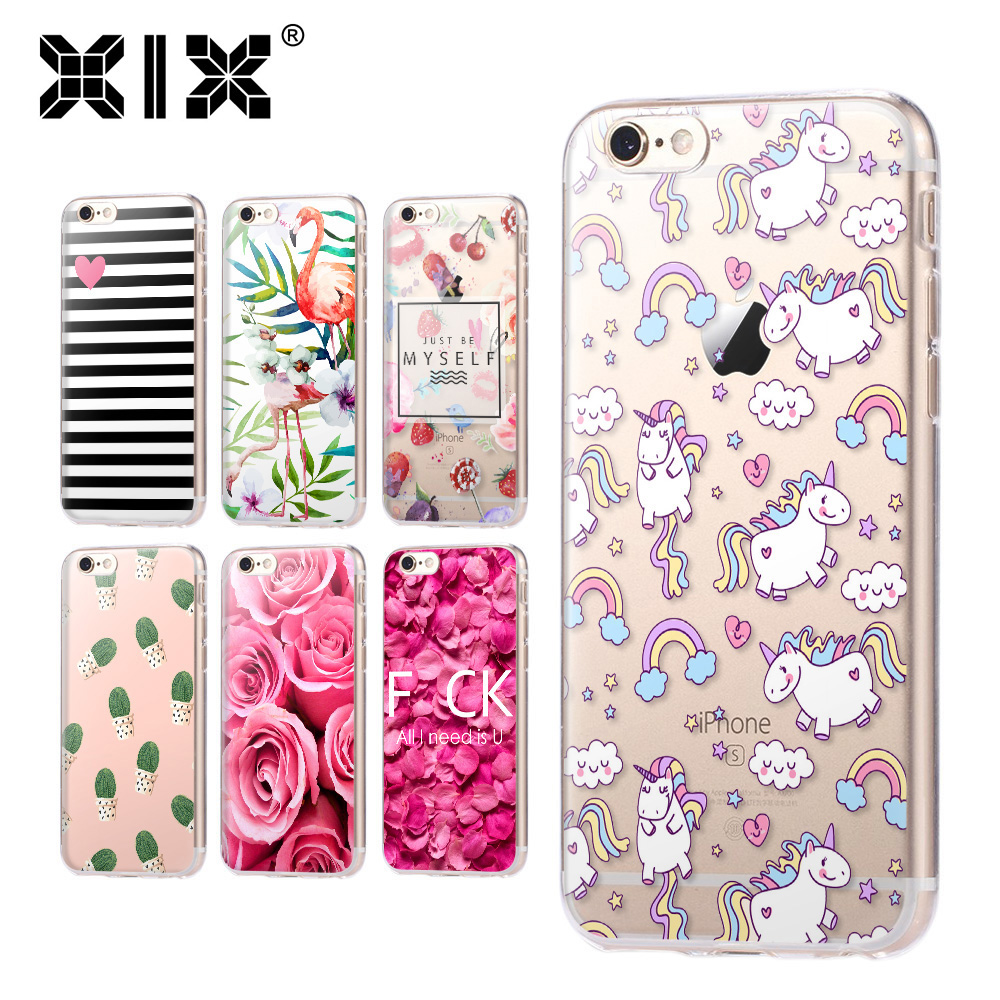 for fundas iphone 5s case 5c 5s 6 6s 7 plus flower soft silicone tpu cover 2016 new arrivals