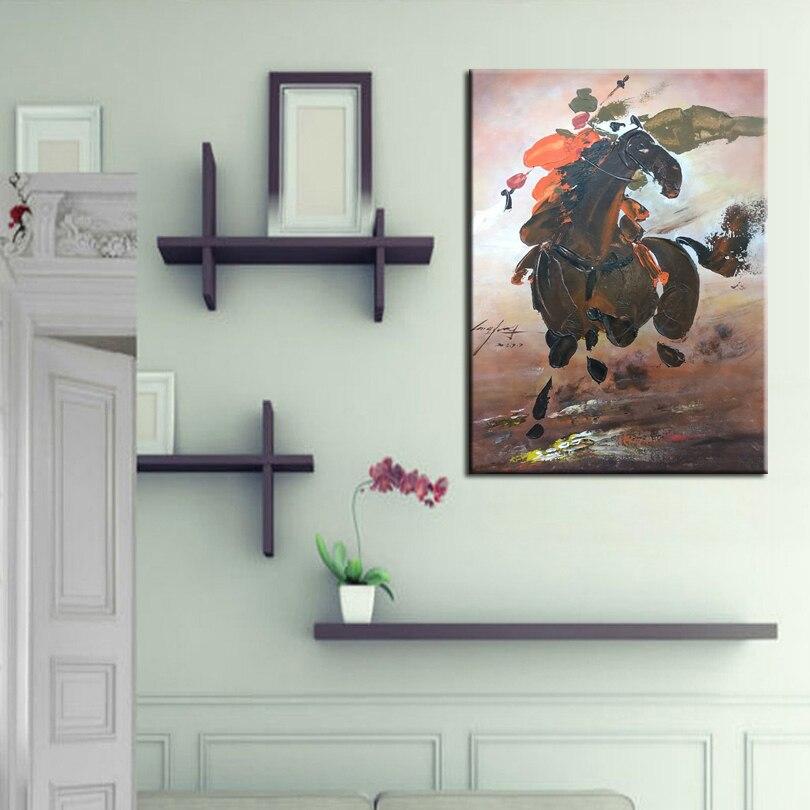 Нож рисунок картины украшение картины на заказ Оригинальный Картина маслом честность лояльности Hero китайский стиль 17122501 - 5