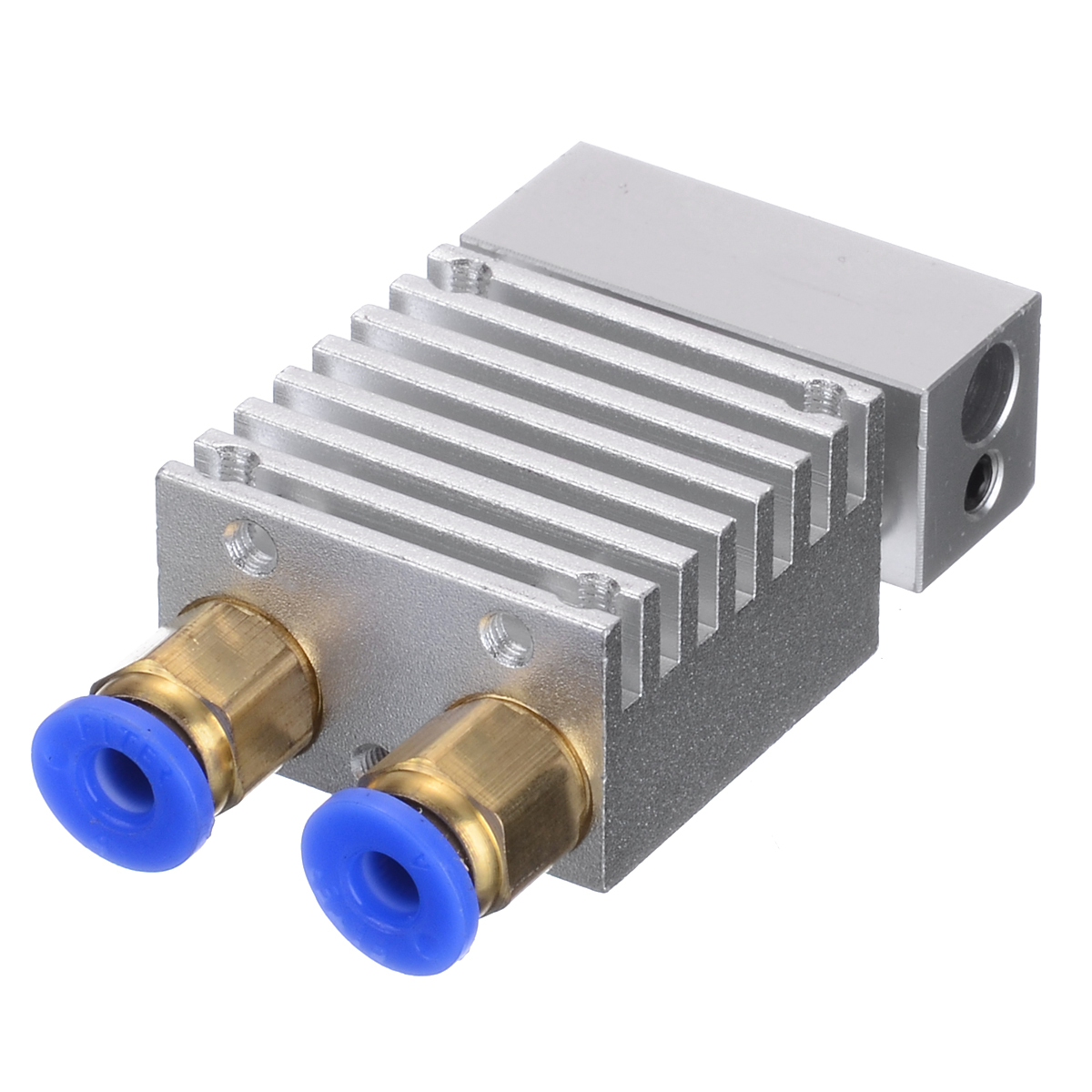 1pc Professional 3D Printer Parts Hotend Extruder Hot End V1 0.4mm Dual Head Metal Nozzle For 1.75mm