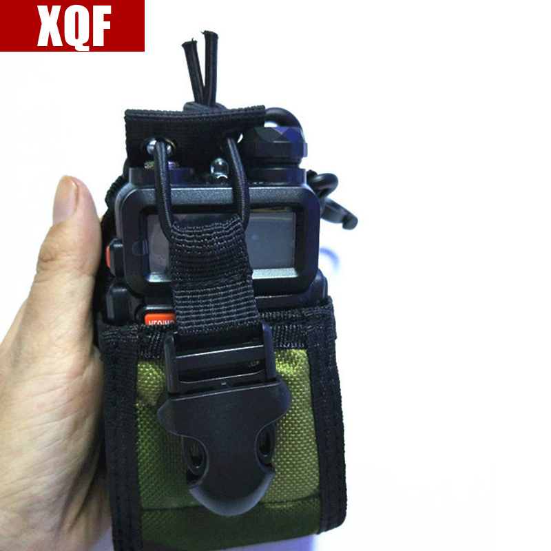 XQF Camouflage MSC-20B Multi-fonction Support de Cas de Radio pour Baofeng UV 5R 5RA 5RB 5RC 5RD 5RE + 5RA + deux Way Radio