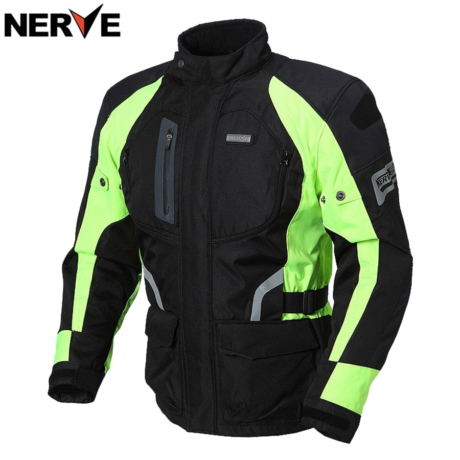 Free shipping 1pcs Mens Cool Outdoor Motocross Jacket Racing Suits Cycling Race Coat Motorcycle Jacket With 5pcs pads
