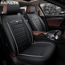 Kadulee автомобиль чехлы для сидений Lada Веста Granta Nissan Note Mercedes W211 Nissan Qashqai Fiat Punto BMW E90 автоматический мест протектор