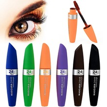 1 PCS Makeup Cosmetics Fiber Eyelash Mascara Long Curling Makeup Eyelash Waterproof Fiber Mascara Eye Lashes