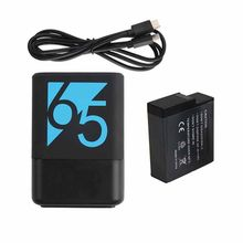 For 2018 GoPro Hero 5 Go Pro 6 7 8 Batterie + Dual Port TYPE-C Charger battery For GoPro Hero5 6 7 Black Camera(China)