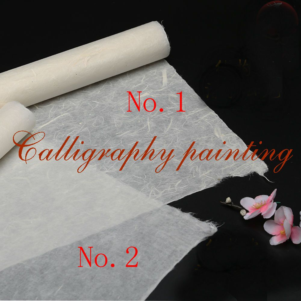 10pc See-through Long Pure Plant Fibre Rice Paper Painting Calligraphy Sumi-e