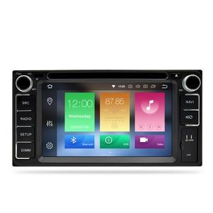 Image 2 - אוניברסלי אנדרואיד 9.0 DVD GPS ניווט רדיו וידאו נגן סטריאו 4G RAM + 64G ROM 2 דין Wifi bluetooth headunit מולטימדיה לרכב