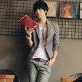 2017 Metrosexual Small Slim Fit Suit Men's Slim Fashion Leisure Skinny Suit Coat Men Korean Style Blazer