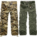 2016 New Tactical Cargo Pants Military  Men high quality Camouflage Printed Male Overalls Casual army Straight Trousers 28 ~ 40