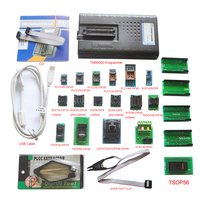 2019 New TNM5000 USB EPROM Programmer memory recorder+17pc adapter for NAND flash/EPROM/MCU/PLD/FPGA/ISP/JTAG,Laptop/Notebook IO
