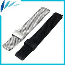 Stainless Steel Watch Band 18mm 22mm for Casio BEM 302 307 501 506 517 EF MTP Quick Release Strap Loop Wrist Belt Bracelet