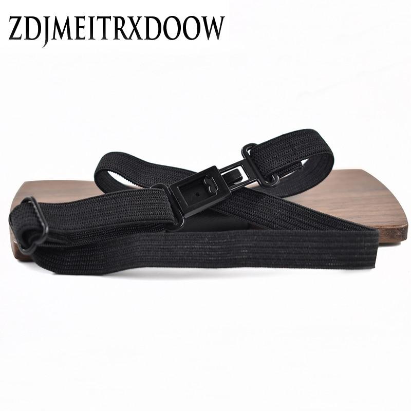 R.XIN 2017 High Quality Geometric ukiran kayu bow tie houten strik - Aksesori pakaian - Foto 4