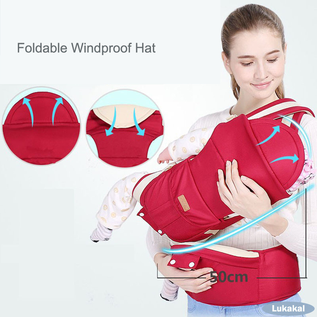 """Multifuctional 1-36 Month Baby Carrier Mochila Ergonomic Infant Newborn Sling BackPack Prevent """"O"""" Leg HipSeat Baby Kangroo Wrap Backpacks & Carriers"""