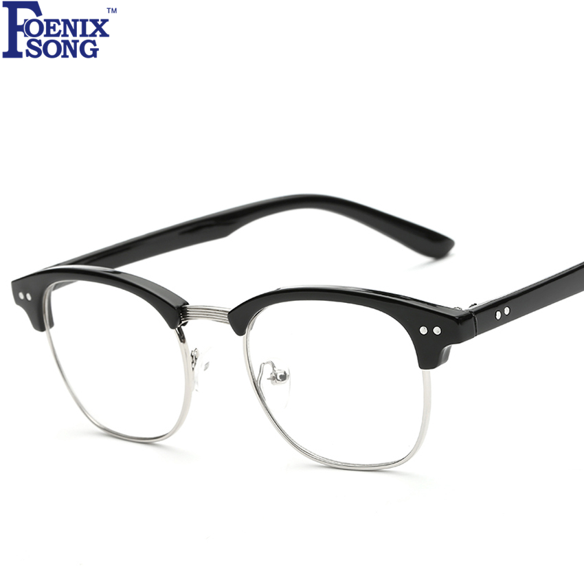 Foenixsong Fashion Women Leopard Frame Eyeglasses Vintage