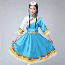 Cos costumes Tibetan short clothing stage performance dance special women costume dancing clothes