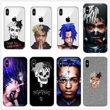Rap Singer XXXTentacion MC Phone Case for Apple iPhone XR XS Max X 8 7 6 6S Plus 5 5S SE 5C 4S 10 Cover 7Plus 8Plus Cases