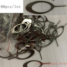 100pcs/lot SIM Card Tray Removal Remover Eject Pin Needle Ke