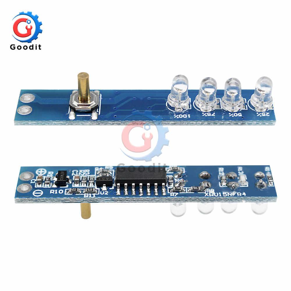 1S Lithium Batterij Capaciteit Indicator Tester LED Display Board Power Indicator Voor 1 stuks 18650 Lithium Li-Ion lipo batterij