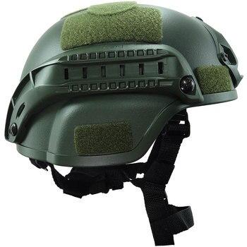 Armee Militärische Taktische Helm mit Brille Airsoft Getriebe Paintball Kopf Outdoor Schnelle Springen Schutzhelm Jagd