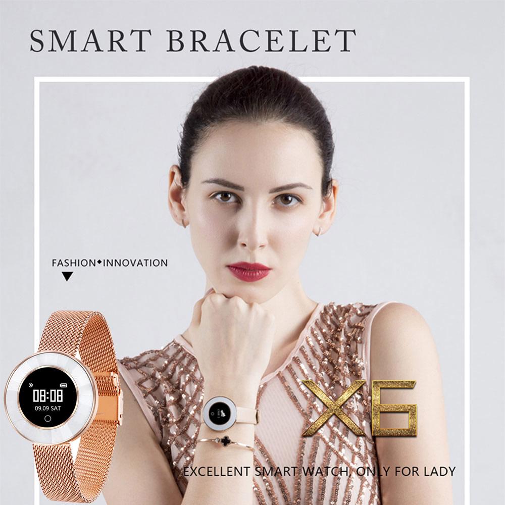 Smart Watch Women Fitness Tracker Blood Pressure Heart Rate Monitor Smart Bracelet Waterproof IP68 Woman Watch Gift For Lady vacation