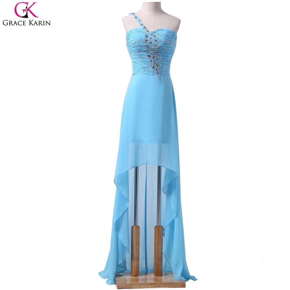 Grace Karin High Low Prom Dresses Chiffon Elegant Front Short Back ...