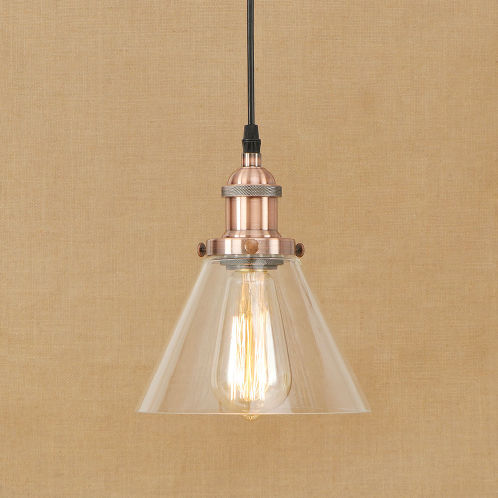 Small Simple Chandelier Us 40 8 15 Off Vintage Small Simple Glass Pendent Light Iron Lamp Head Chrome Bronze Rusty Decoration Retro Lighting Loft Cafe Chandelier Lamp In