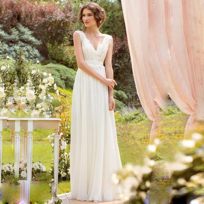 Online Get Cheap White Beach Wedding Dresses Casual -Aliexpress ...